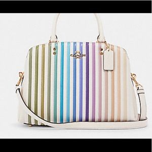 Coach LILLIE CARRYALL WITH OMBRE QUILTING